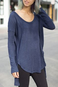#freepeople thermals make layering easy! Throw a cozy sweater over for extra warmth.