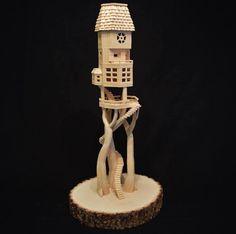 Les sculptures en curedents de Bob Morehead  2Tout2Rien