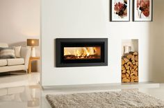 Riva Studio Duplex Fire : Lareiras e acessórios por Stovax Heating Group