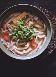 Pork Soup Udon
