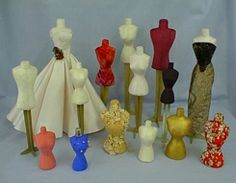 Dress Form & Sloper patterns to fit the following Fashion Dolls.....
