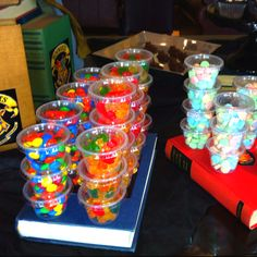 Candy for Harry Potter movie party