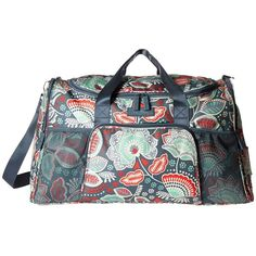 Vera Bradley Luggage Ultimate Sport Bag (Nomadic Floral) Bags ($98) ❤ liked on Polyvore featuring bags and luggage