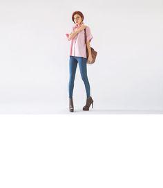 STYLENANDA , 3CE , KKXX 3ce, Stylenanda, Duster Coat, Jackets, Fashion, Down Jackets, Moda, Fashion Styles, Jacket