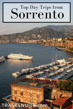 The top day trips you can do from Sorrento, Italy, including full details on transport and costs AMAZING INFO. Italy Vacation, Italy Travel, Travel Usa, Italy Trip, 3 Days Trip, Day Trips, Amalfi Coast Italy, Capri Italy, Naples Italy