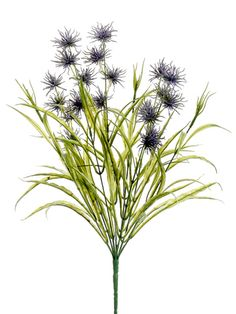 """Thistle and Wild Grass Bush in Lavender 20"""" Tall Only $6.29 fall wedding flowers silk flowers silk flower bush http://www.afloral.com/Silk-Wedding-Flowers/Fall-Wedding-Flowers/Thistle-and-Wild-Grass-Bush-in-Lavender-20-Tall"""