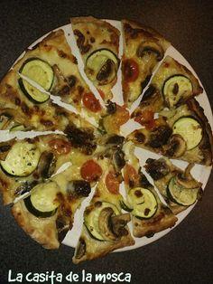 Hazles esta pizza vegetariana ¡Y que amen la verdura desde peques!