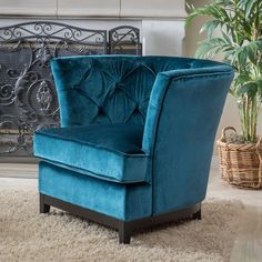 Christopher Knight Home Princeville Tufted Fabric Chair - Overstock™ Shopping - Great Deals on Christopher Knight Home Living Room Chairs