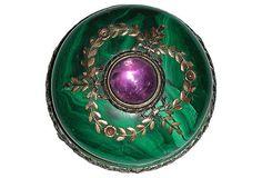 Fabergé Malachite Bell Push, C. 1900 on OneKingsLane.com