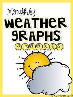 These weather graphs will be a perfect addition to your classroom displays, calendar math, graphing instruction, morning meeting, etc. Included:SunnyCloudyRainyStormySnowy*Note: As a free product, this will not be edited at this time.*