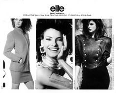 The Model Archives of Marlowe Press   Elite (New York)1988