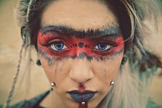10 Spooky Makeup Looks for the Halloween Fanatic Apocalypse Makeup, Apocalypse Fashion, Apocalypse Art, Mad Max Cosplay, Mad Max Costume, Costume Halloween, Halloween Face Makeup, Halloween 2020, Halloween Ideas