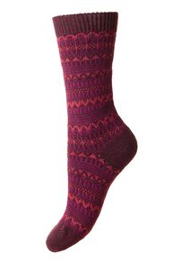 Foxley women's Fairisle wool boot sock in oatmeal. English-made by Scott-Nichol (scheduled via http://www.tailwindapp.com?utm_source=pinterest&utm_medium=twpin&utm_content=post15638824&utm_campaign=scheduler_attribution)
