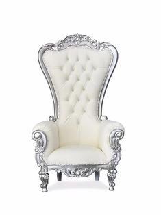 Shop our collection of affordable single Throne Chairs™ on sale with free nationwide shipping! Choose from over 400 royal king & queen thrones in stock. Buy your next throne chair in store or online! King Throne Chair, King On Throne, Wingback Chair, Armchair, Glam Room, Event Design, Accent Chairs, Furniture, Dinners