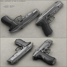 B78 - sci fi handgun by peterku on DeviantArt
