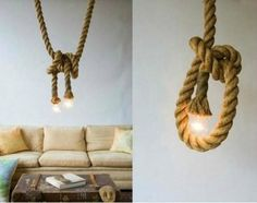 Rope lights. The cute kind.