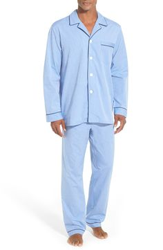 New Majestic International Cotton Pajamas (Big and Tall) ,BLUE fashion online. [$70]top10shopping top<<