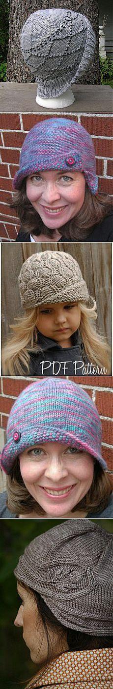 Vita Cloche pattern by Nina Machlin Dayton