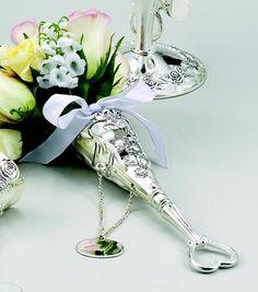 """Victorian Heart """"Tussie Mussie"""" Vase, bouquet holder, unique wedding, Victorian wedding, Wedding gift, Wedding accessories, bridesmaid gift"""
