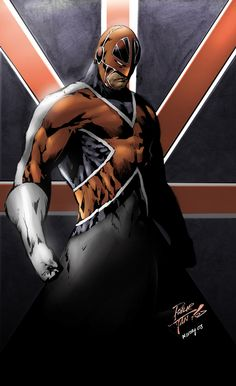 Captain Britain by Philip Tan
