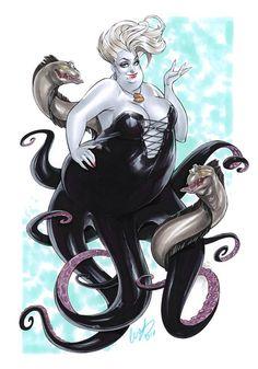 The Little Mermaid - Ursula by Elias Chatzoudis *
