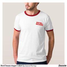 Kewl beanz ringer t shirt