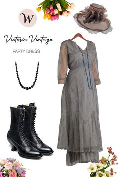 Like the name implies, the Somewhere in Time Dress in Smoke by Nataya is the exact color of a foggy, smoke-filled dance floor in a 1920s parlor. Waltz the night away in this gorgeous and flirtatious ensemble. It's the perfect party dress for wearers of all shapes and sizes...