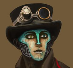 deviantART: More Like Steam Powered Giraffe Makeup: Rabbit Take 4 by ~EmilyLennonMcCartney
