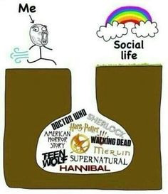 teen wolf, doctor who, and supernatural afbeelding