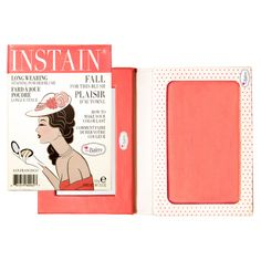 The Balm Instain Powder Blush Swiss Dot – It's vegan!
