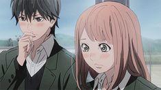 "one Kakeru x Naho gifset per episode » Orange「オレンジ 」 ""↳ Episode 11: Letter 11 """