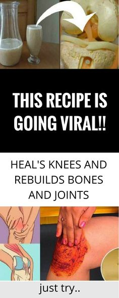 You comprehend that creating will apparently make wrinkles and silver hair. Regardless do you know how the creating framework will affect your knees bones and joints? All over the torment in the knees bones and joints is the guideline clarification Herbal Remedies, Health Remedies, Home Remedies, Natural Remedies, Home Health Care, Health Tips, Lunch Recipes, Healthy Recipes, Mouth Watering Food