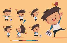 Children's book illustration and cover about a boy who gets his finger stuck in his nose. Kid Character, Character Drawing, Character Concept, Illustrations, Children's Book Illustration, Character Illustration, Character Design Animation, Character Design References, Cover Design