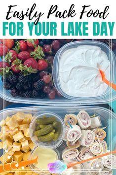 Boat Snacks, Boat Food, Summer Snacks, Easy Snacks, Healthy Snacks, Snacks For Beach, Snacks For Boating, Picnic Snacks, Beach Meals