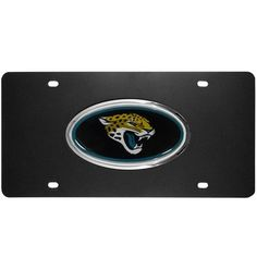 Jacksonville Jaguars Acrylic License Plate