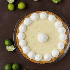 If you love key lime pie then you will adore this Key Lime Cheesecake Pie. It's absolutely the best way to enjoy key limes.