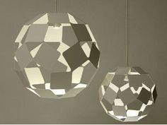 Pendelleuchte aus Stahl DANCING SQUARE LAMP