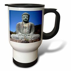 Wild Bramble Buddha Stainless Steel Travel Mug 14Ounce ** Continue to the product at the image link. (This is an affiliate link and I receive a commission for the sales)