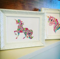 Excited to share the latest addition to my #etsy shop: Unicorn gift framed unicorn picture swarovski button crystal decoration girls bedroom baby girl unicorn accessories new baby gift AND ITS IN THE SALE!  #unicornpicture #unicornaccessories #unicorngift #unicorn #crystalpicture #nursery #buttonart