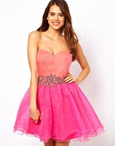 Little Mistress Organza Prom Dress