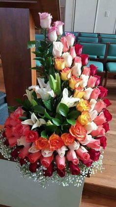 Buy wholesale flowers online for DIY Weddings & events. Order Bulk flowers online, wedding flowers, wholesale flowers direct, wholesale flowers and large varieties of fresh flowers from WholeBlossoms. Creative Flower Arrangements, Large Flower Arrangements, Funeral Flower Arrangements, Funeral Flowers, Beautiful Rose Flowers, Unique Flowers, Fresh Flowers, Cut Flowers, Bouquet Of Flowers