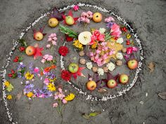 Witchcraft and wicca altar, pagan religion. Harvest Time, Harvest Moon, Corn Moon, Reap The Benefits, Ears Of Corn, Mabon, Samhain, Sabbats, Witchcraft