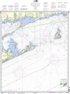 NOAA Nautical Chart 13205: Block Island Sound and Approaches