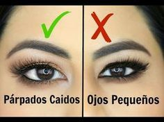 Maquillaje de ojos para parpados caidos,hinchados,paso a paso | hooded eye makeup tutorial - YouTube