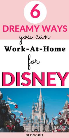 Jobs for Women - Work at home for Disney! Explore how you can work for your favorite Disney! #disneyjobs #workfordisney #workfromhome #onlinejobs Work From Home Careers, Legit Work From Home, Work From Home Opportunities, Earn Money From Home, How To Make Money, Jobs For Housewives, International Jobs, Work For Hire, No Experience Jobs