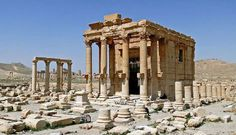 The Temple of Baal-Shamin in Palmyra, Syria, in 2010. Author: Bernard Gagnon. Licensed under the Creative Commons Attribution-Share Alike 3.0 Unported, 2.5 Generic, 2.0 Generic and 1.0 Generic license.