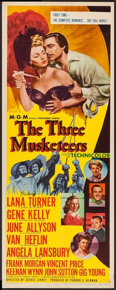 #TheThreeMusketeers 1948 #MoviePoster