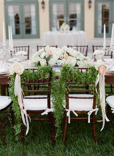 chair wedding chairs decor http://www.trendybride.net/luxury-va-wedding-at-kesnick-hall/ #trendybride