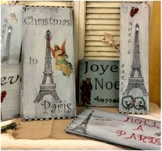 DIY Vintage Christmas Signs - Reader Feature - The Graphics Fairy