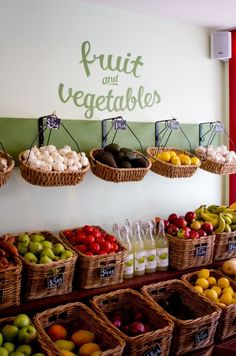 Fruit & vegetables display